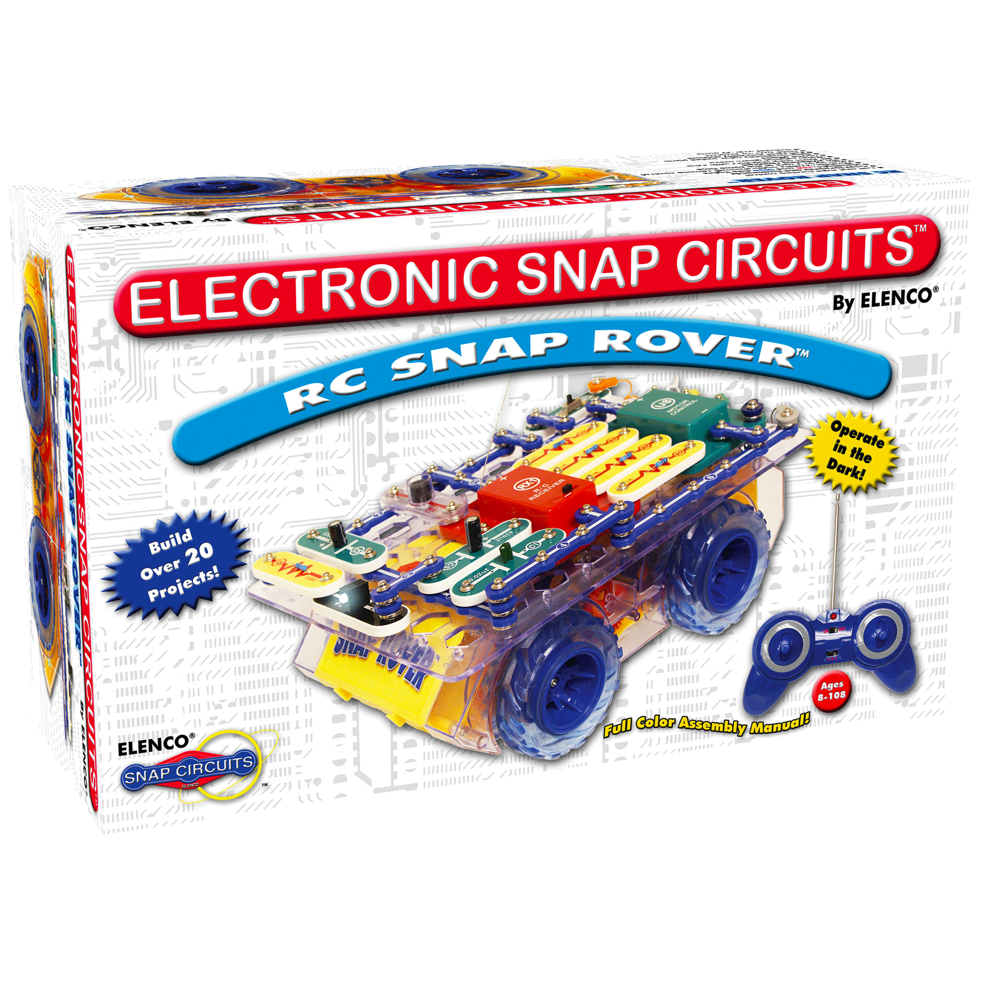 Snap Circuits Rover Replacement Parts Upgrade Sc100 To Sc750 Click Enlarge Elenco