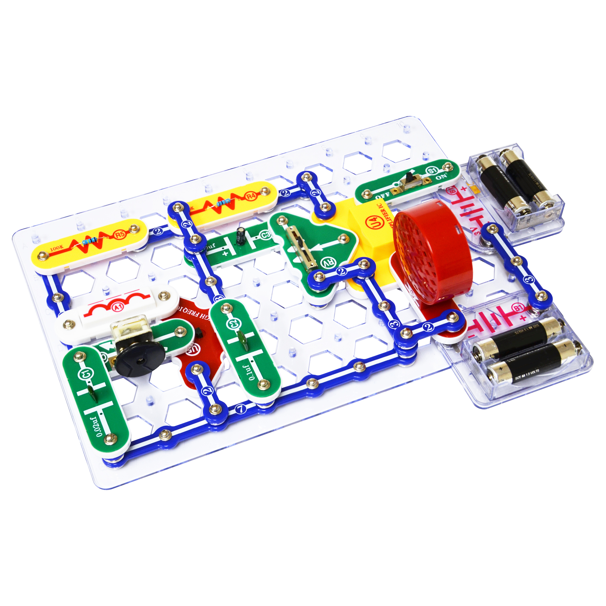 Snap Circuits 300 Experiments Elenco R Electronic And Educational Toys Previous Next