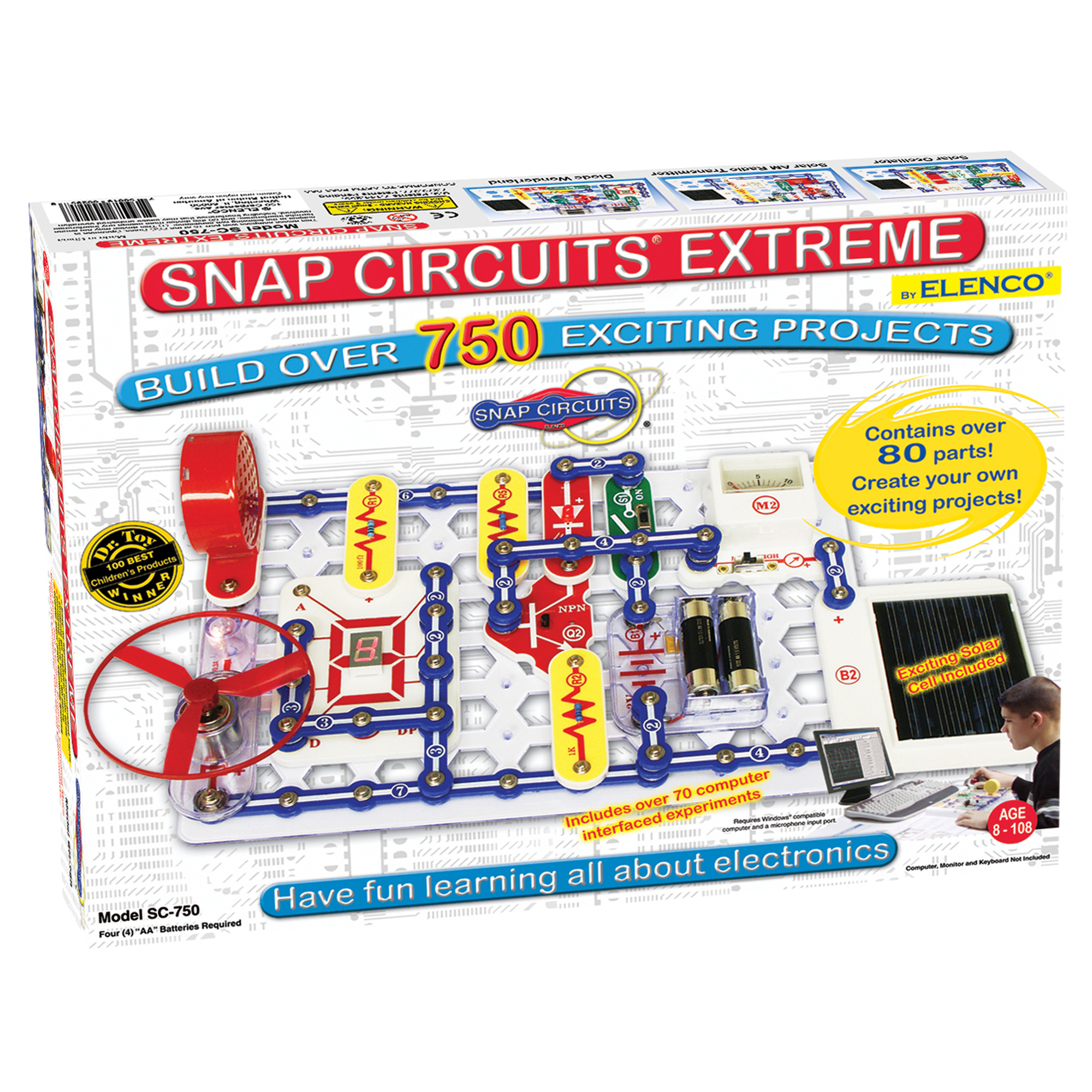 Pics Photos Fun And Useful Electronic Circuits That You Can Use To Snap Extreme 750 Experiments Elenco