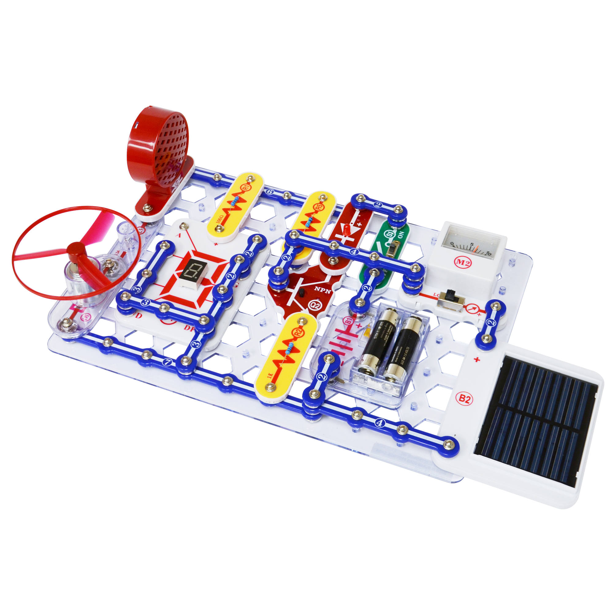 Snap Circuits Extreme 750 Experiments Elenco Electronics Electrical Project Kid Educational Previous Next