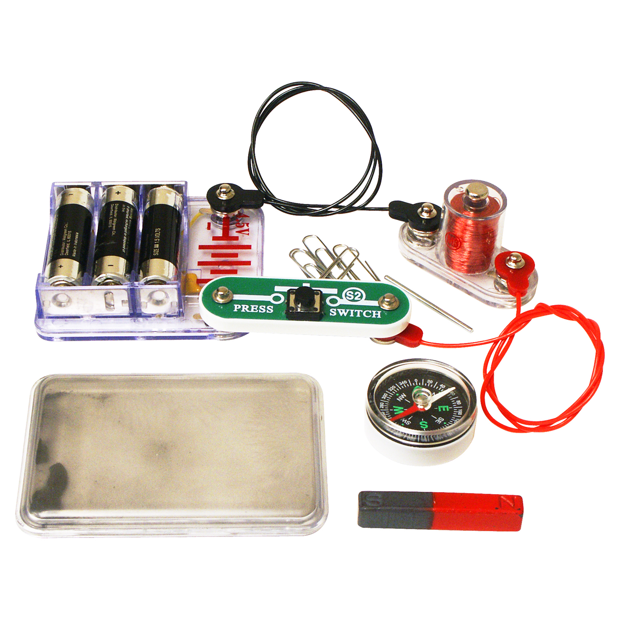 Snap Circuits Electromagnetism Elenco Home Previous Next