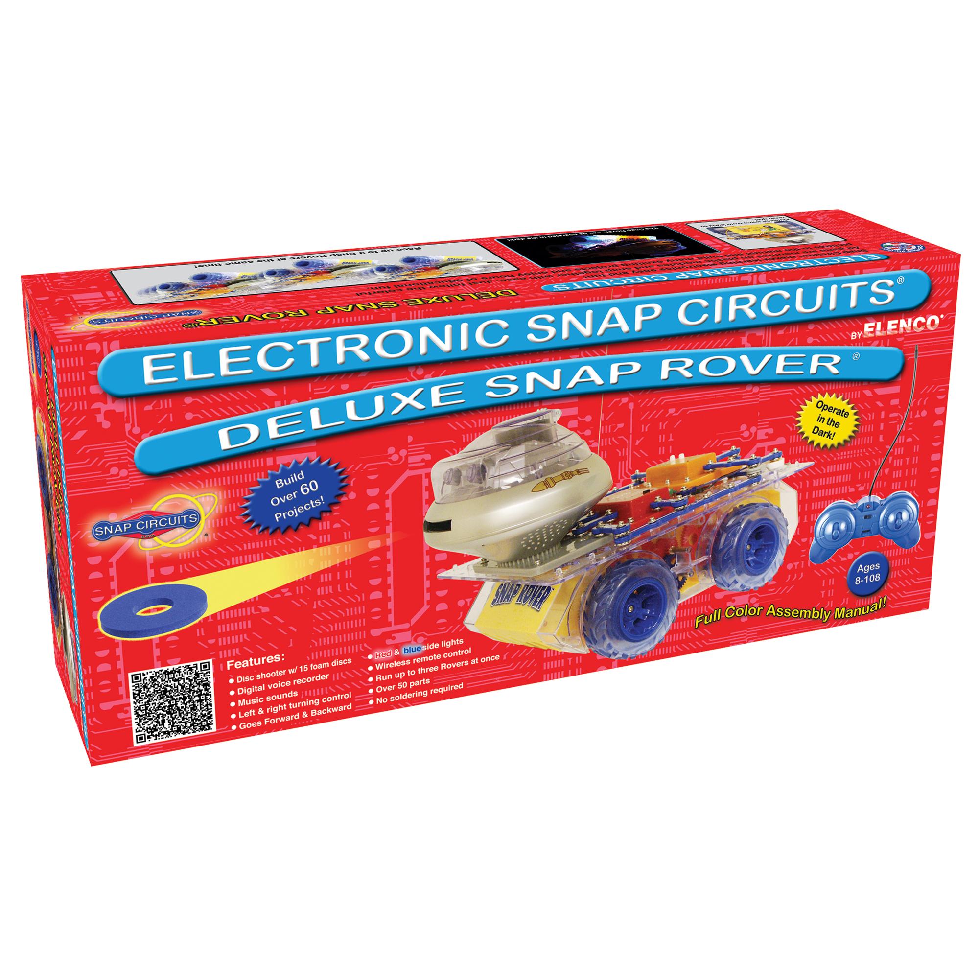 Snap circuits elenco snap circuits deluxe snap rover solutioingenieria Image collections