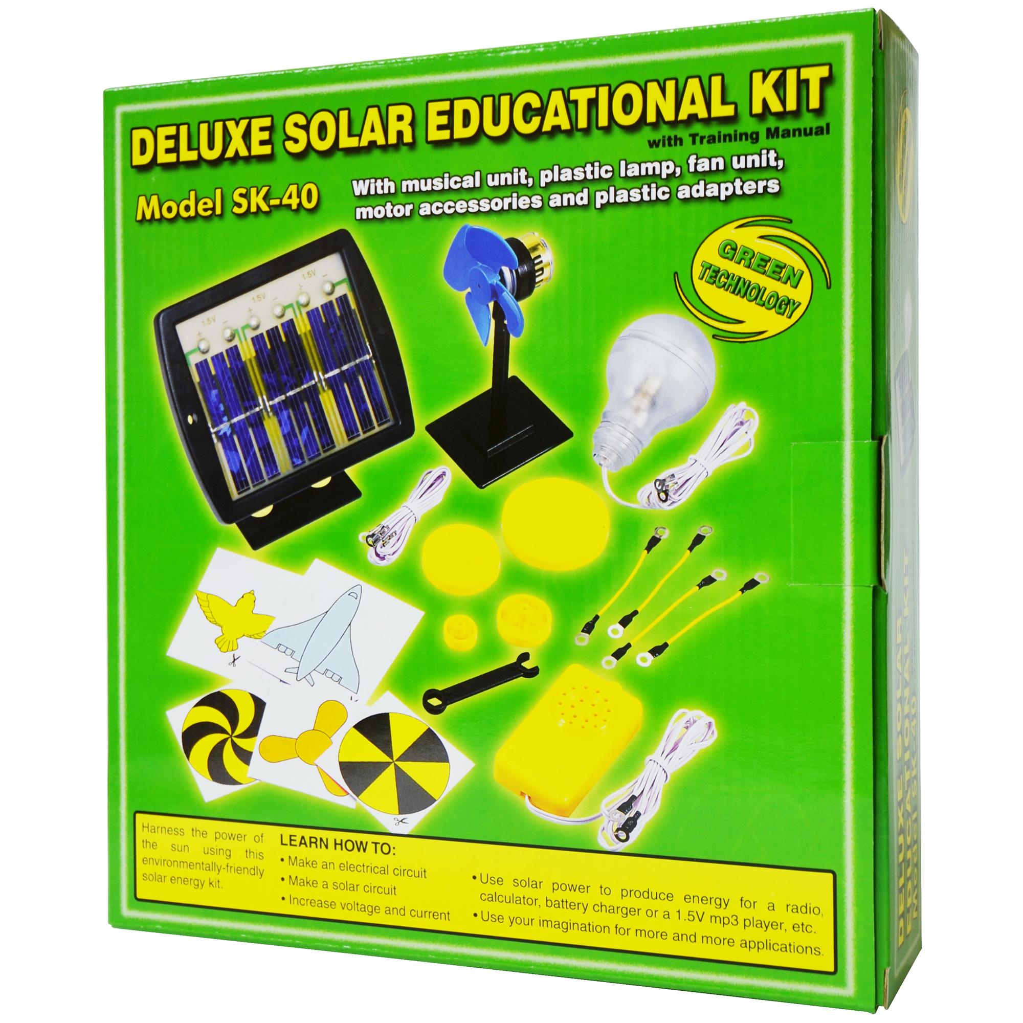 Elenco Solar Deluxe Educational Kit Electronics Inc Sk 40 Snap Circuits Mini Basic Electricity Toys