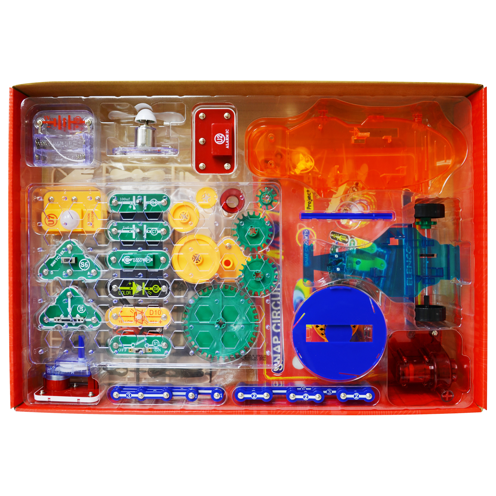 Snap Circuits Motion Elenco Electronics Electrical Project Kid Educational Previous Next