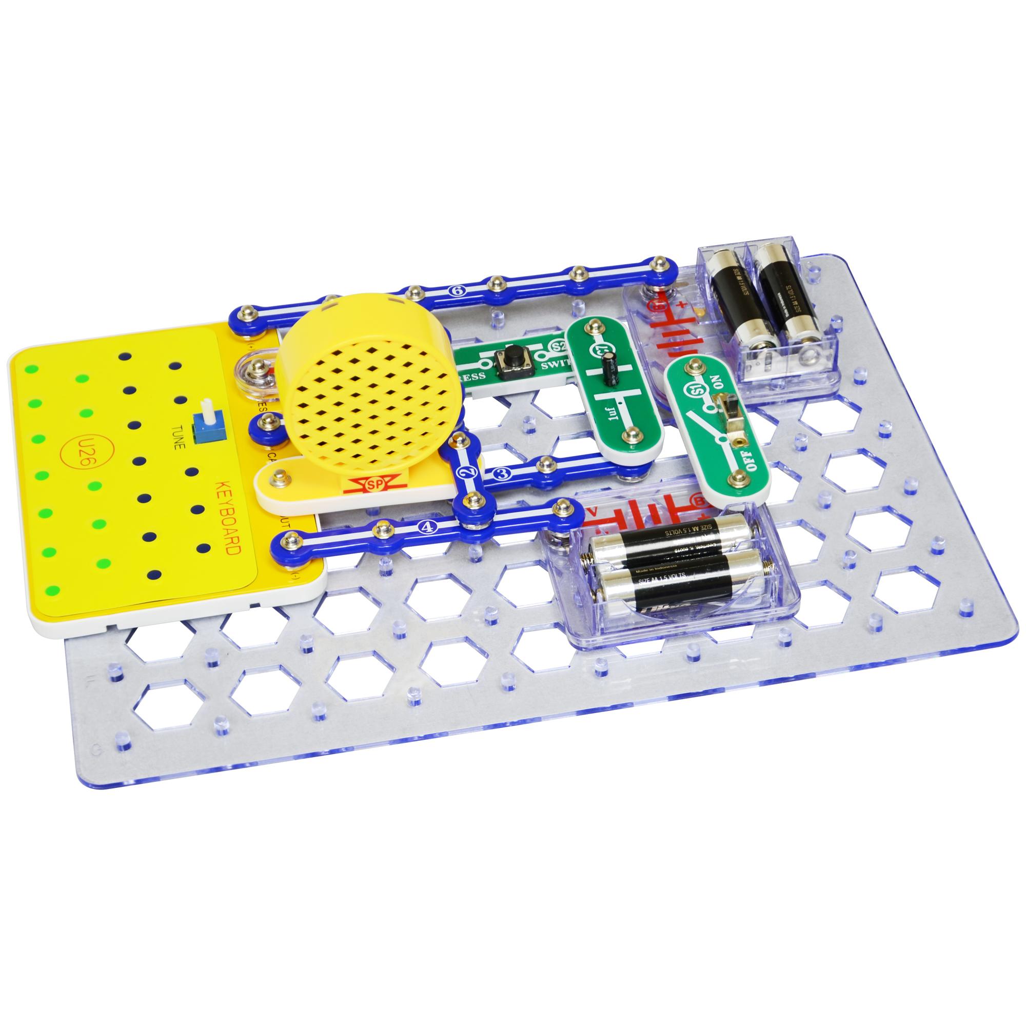 Snap Circuits Sound Amp Light Combo Elenco Electronics