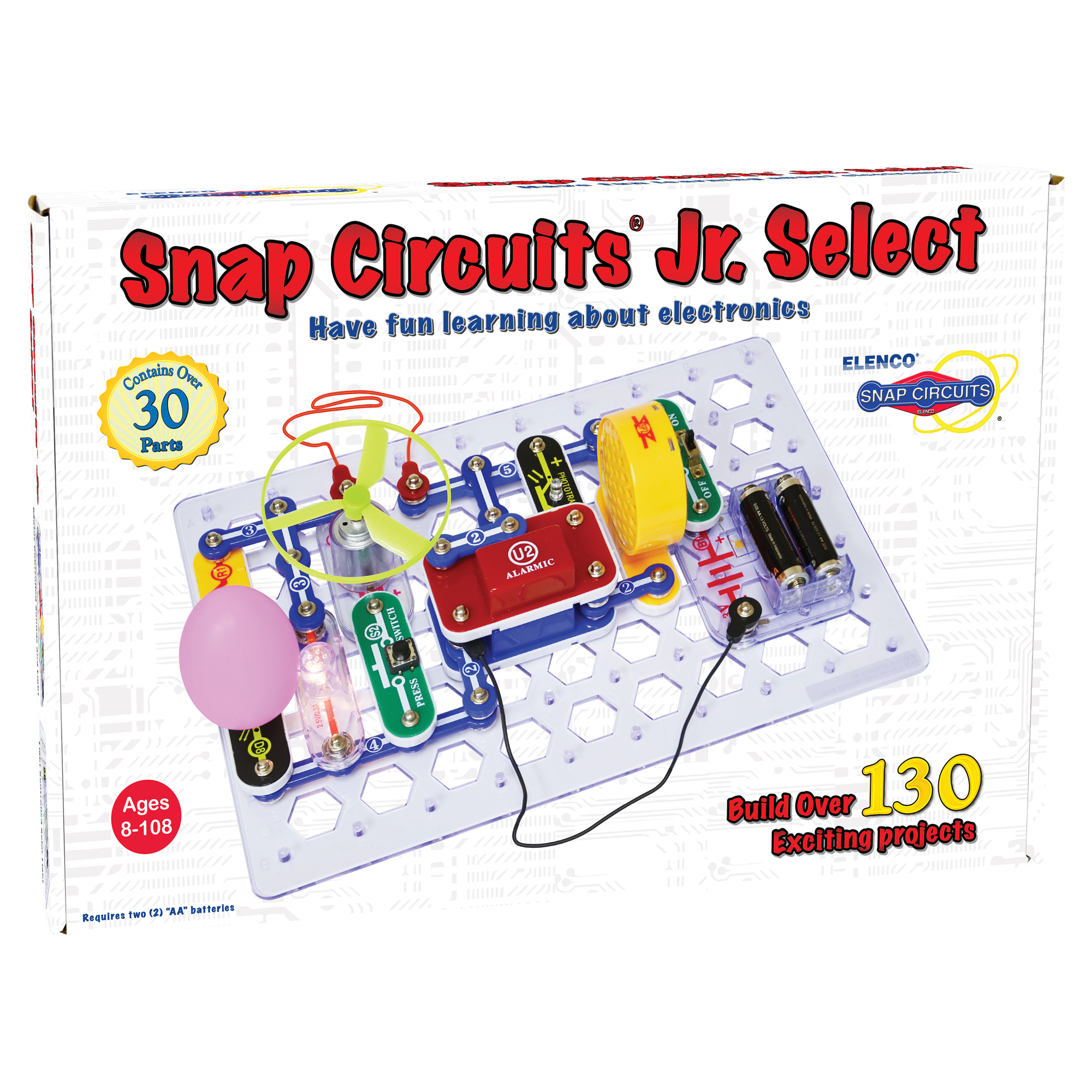Snap Circuits Elenco Fuse Box Circuit Builder Jr Select