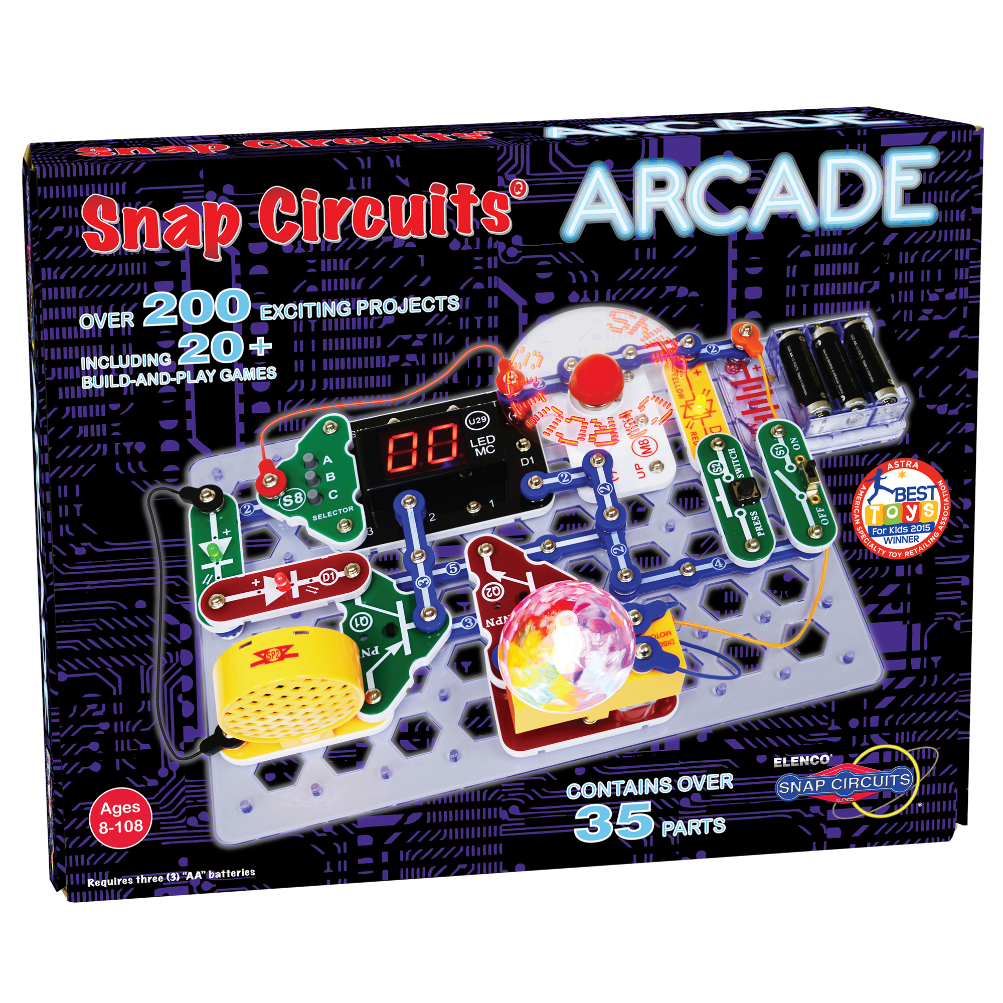 snap circuits arcade elenco rh elenco com snap circuits jr instruction manual snap circuits jr instruction manual