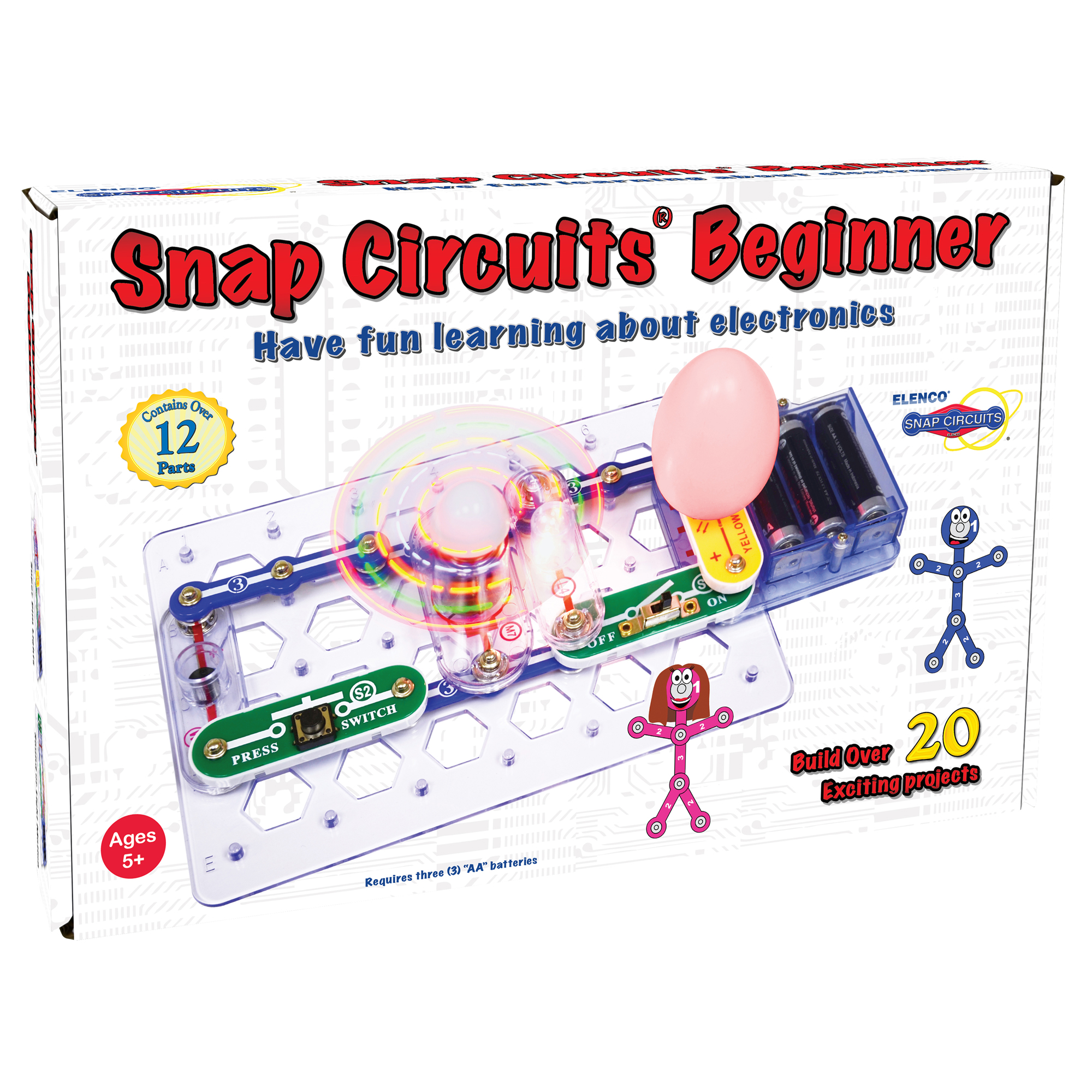 Snap Circuits Elenco Working Of Circuit Breakers Electronic And Diagram Beginner