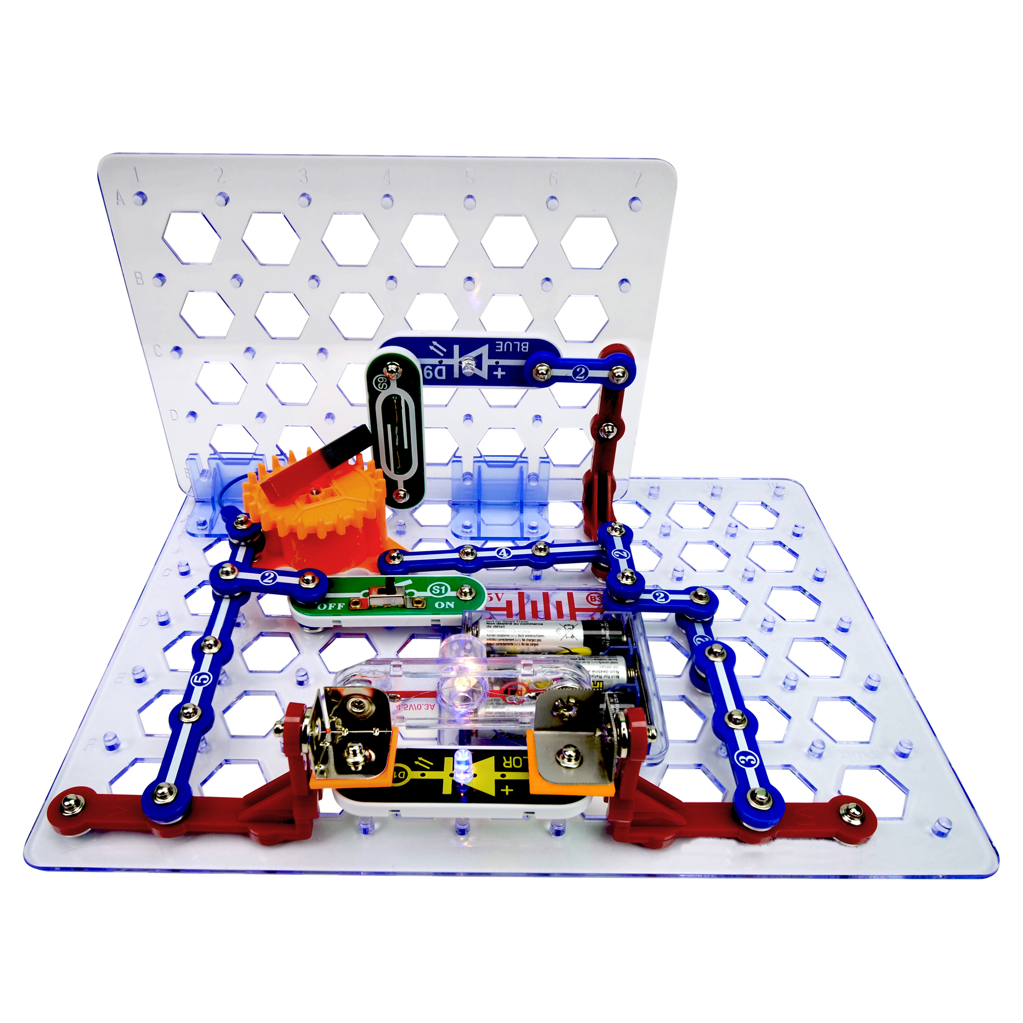 Spring Toys Circuit Boards Wiring Diagram Services Board Games Snap Circuits 3d M E G Elenco Electronics Rh Com Rc