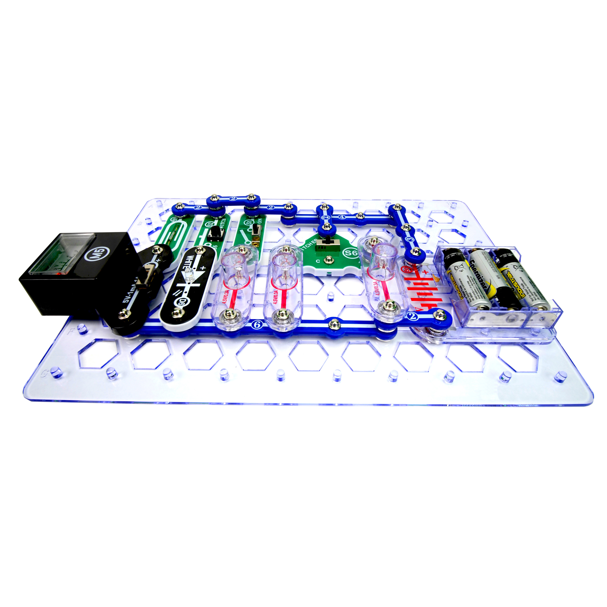 Snap Circuits Stem Elenco Lights Electric Circuit Science Kit By Previous Next