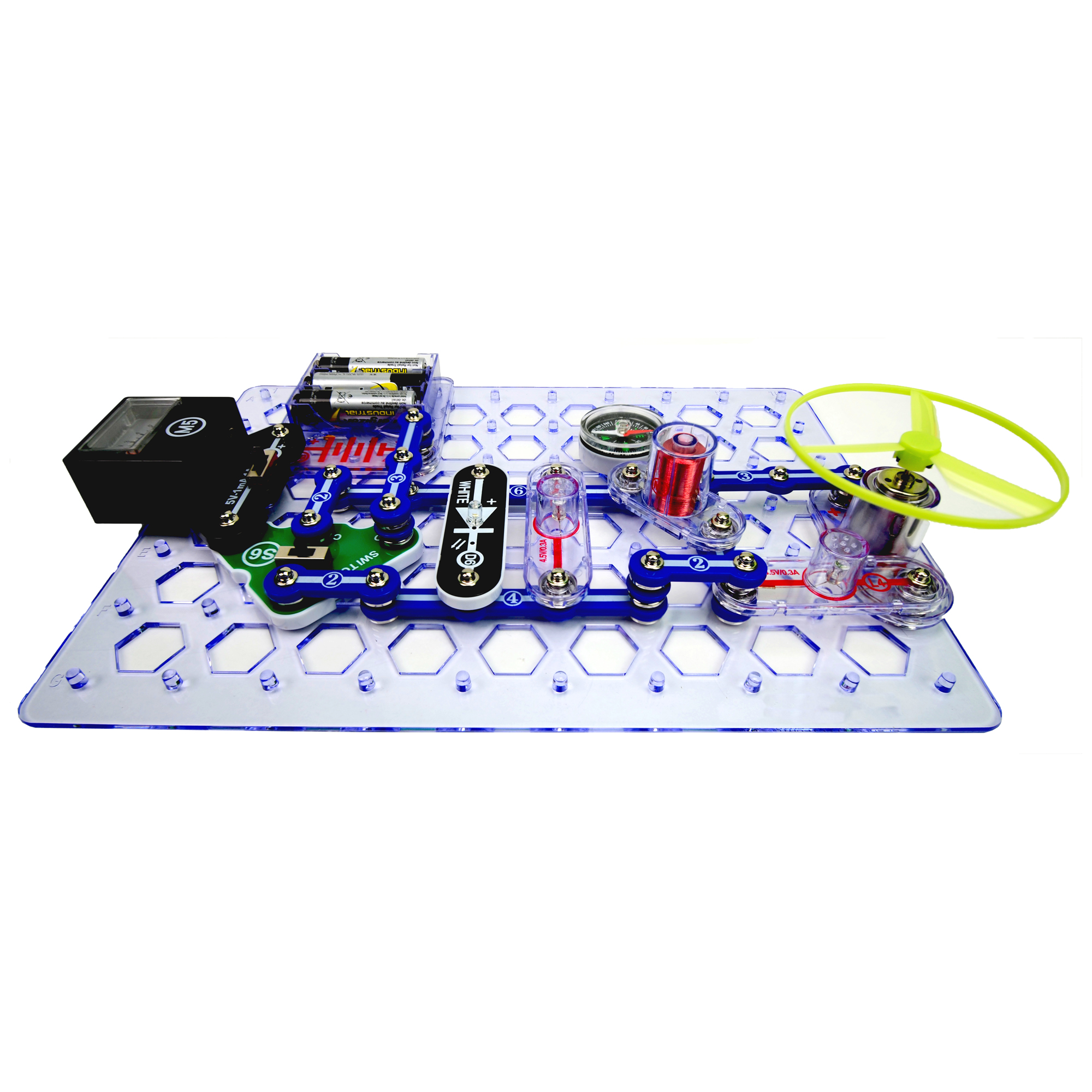Snap Circuits Stem Elenco Simple Electric For Students The Circuit Can Be Assembled Previous Next