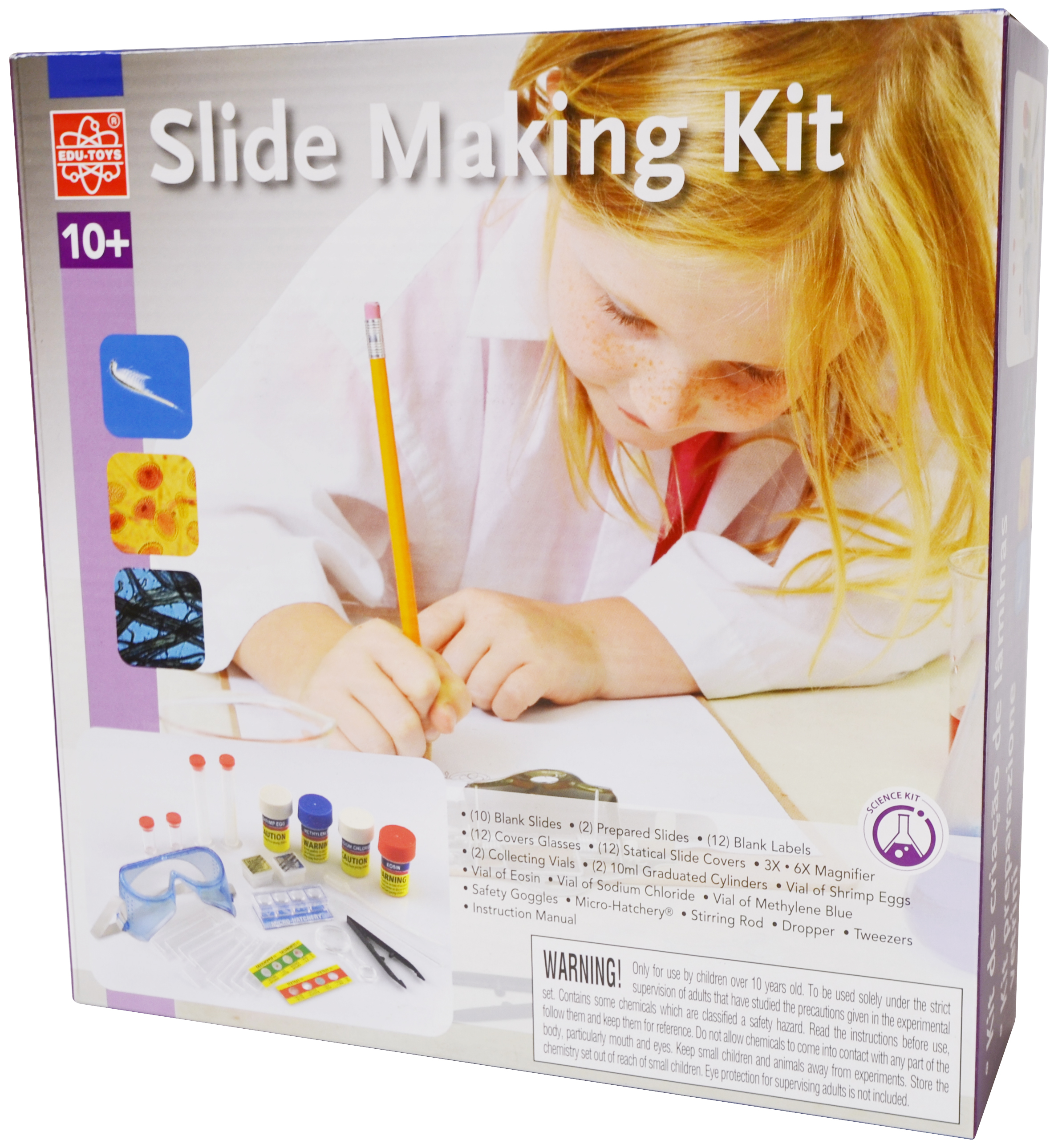 Slide Making Kit Elenco From Snap Circuits Micro Courtesy Electronics Inc