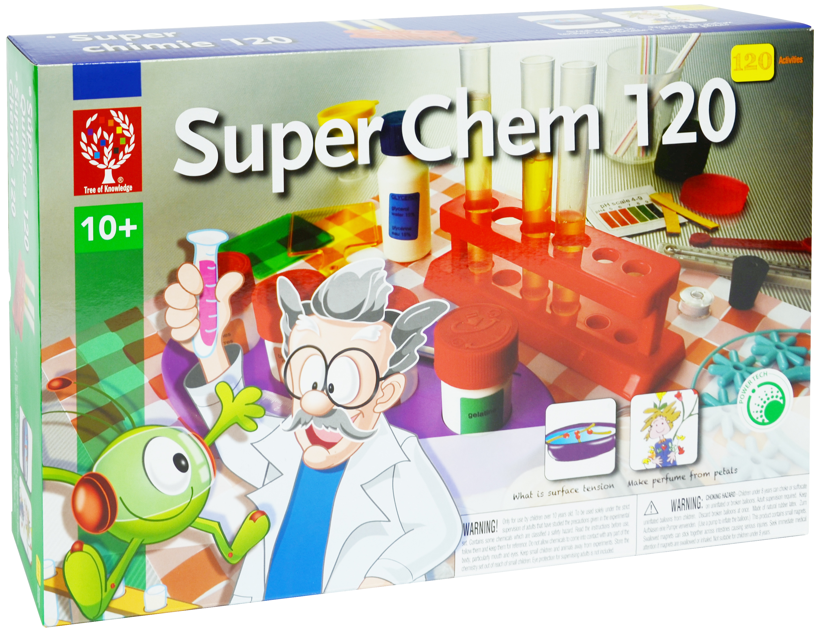 Super Chem 120 Educational Toys By Elenco Electronics Home Products Science Kits Snap Circuits Green