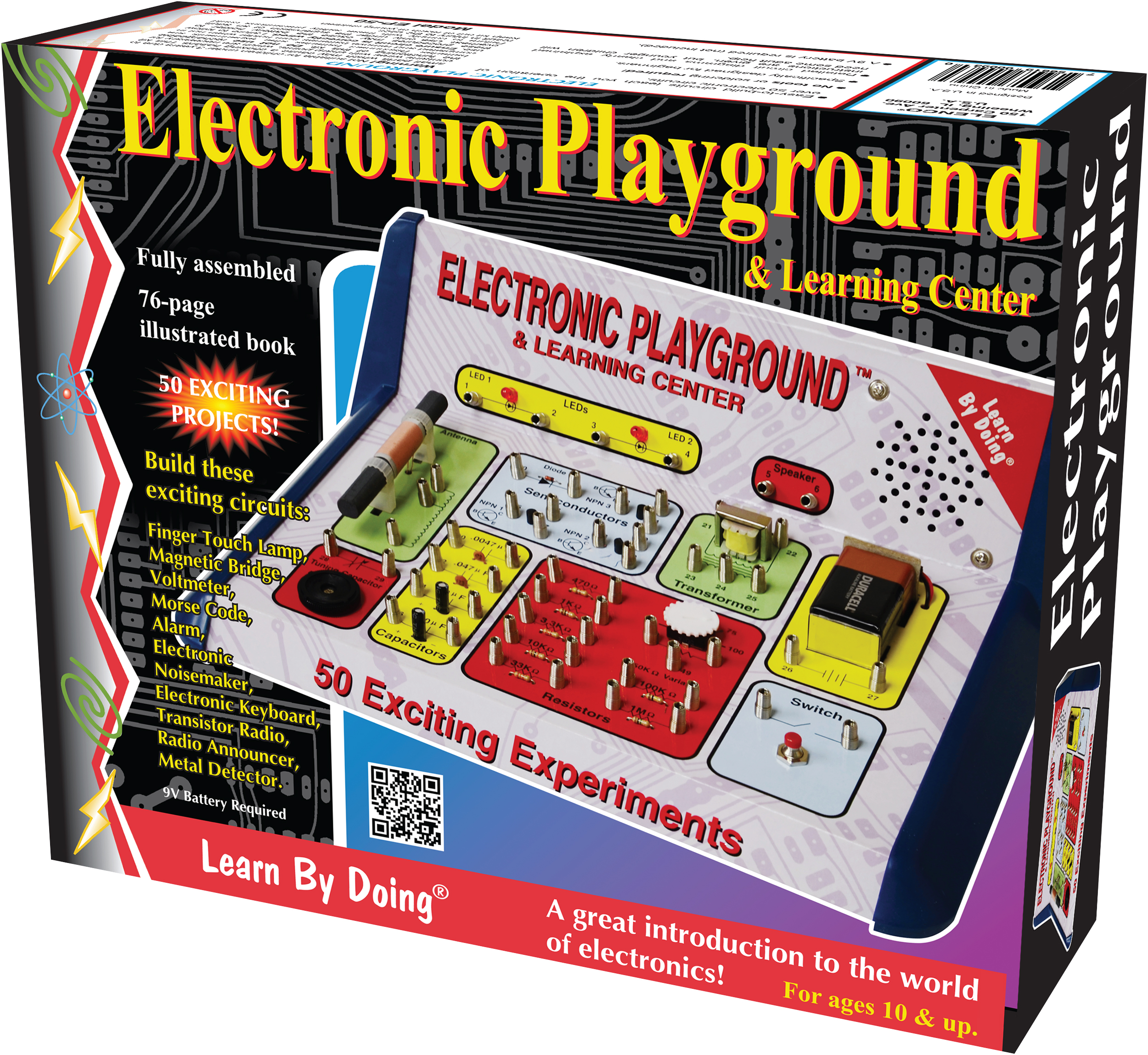 Electronic Playground 50 In 1 Experiments Elenco Capacitors Snap Circuits Wiki