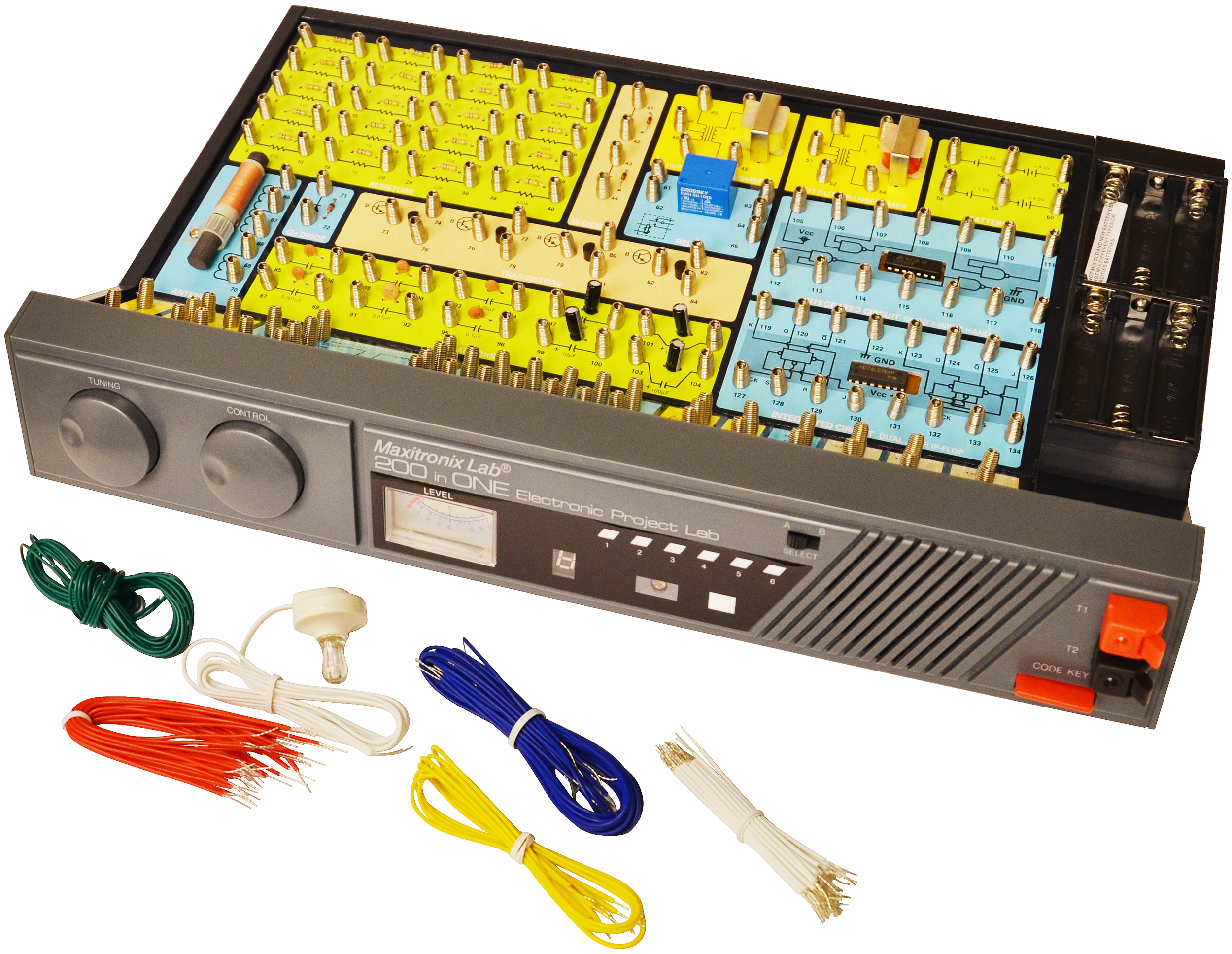 Mx-907 - 200-in-one Electronic Project Lab