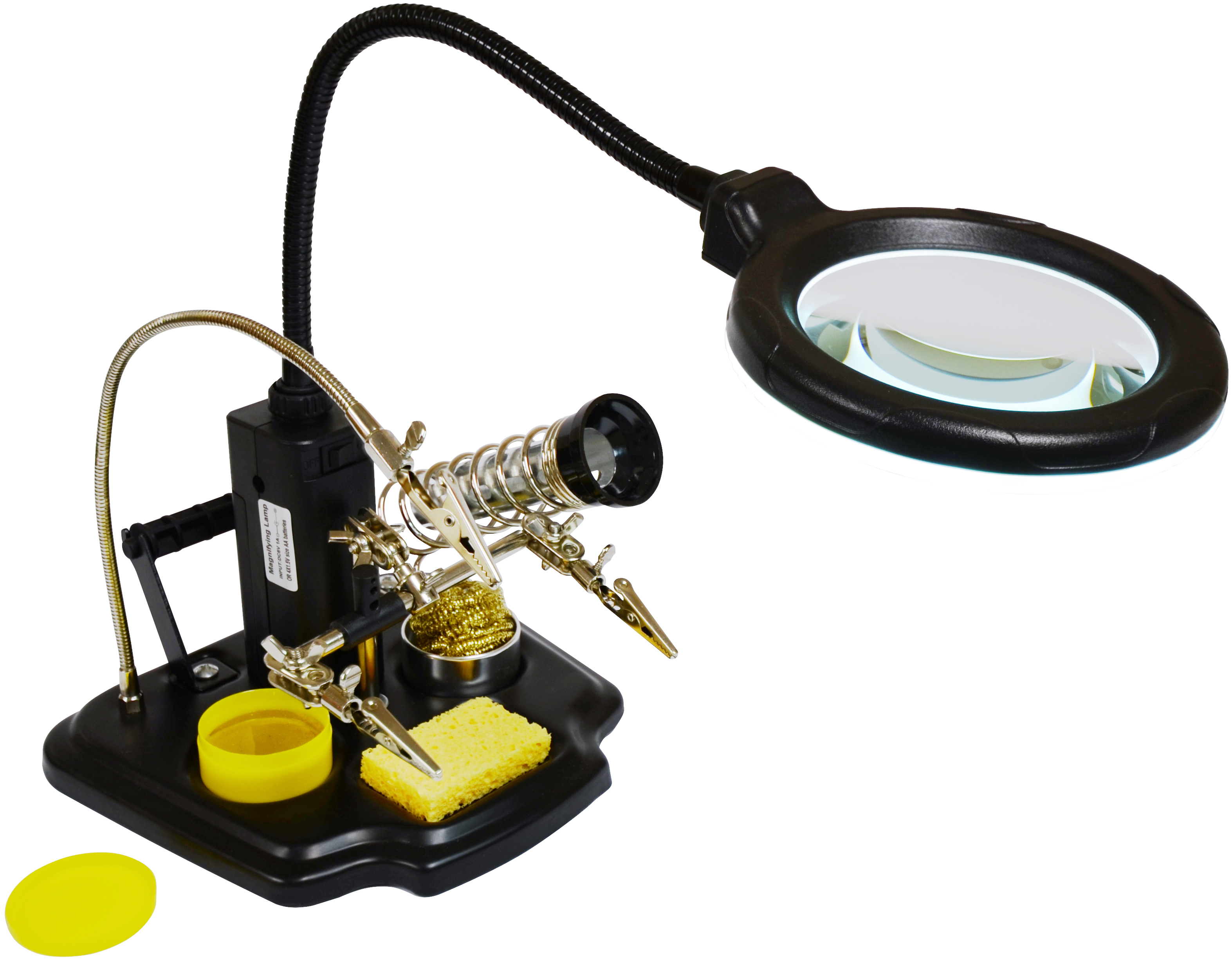 lighting by lamp magnifier lens top adapter newhouse ul magnifying table diopter product led