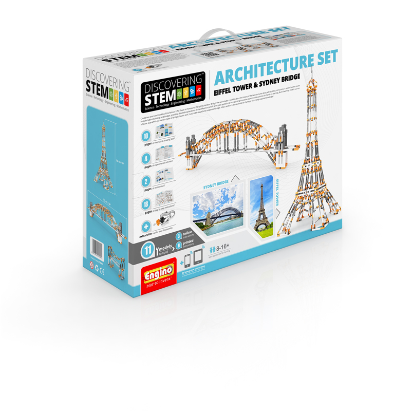 Stem Architecture Set Eiffel Tower Sydney Bridge Elenco
