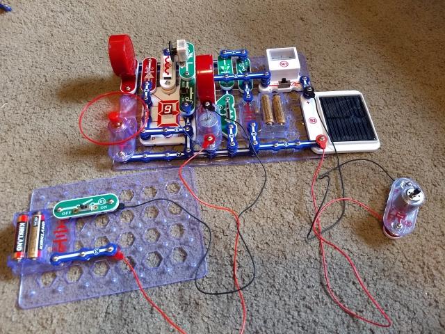 cool snap circuit build