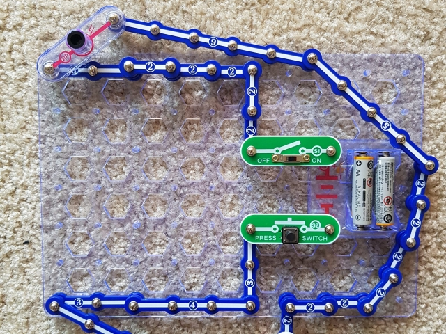 cool snap circuits build
