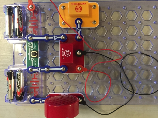 amplifier and alarm build