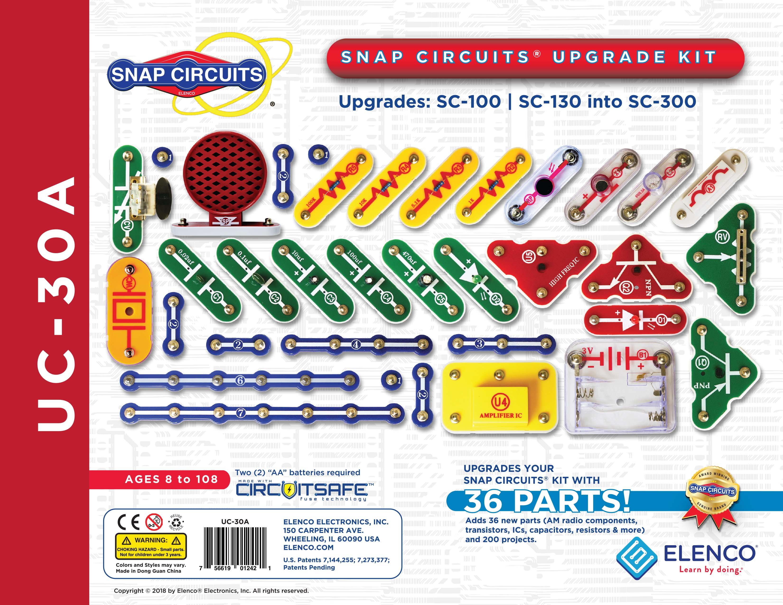 UC-30A - Snap Circuits Upgrade Kit - Elenco Electronics