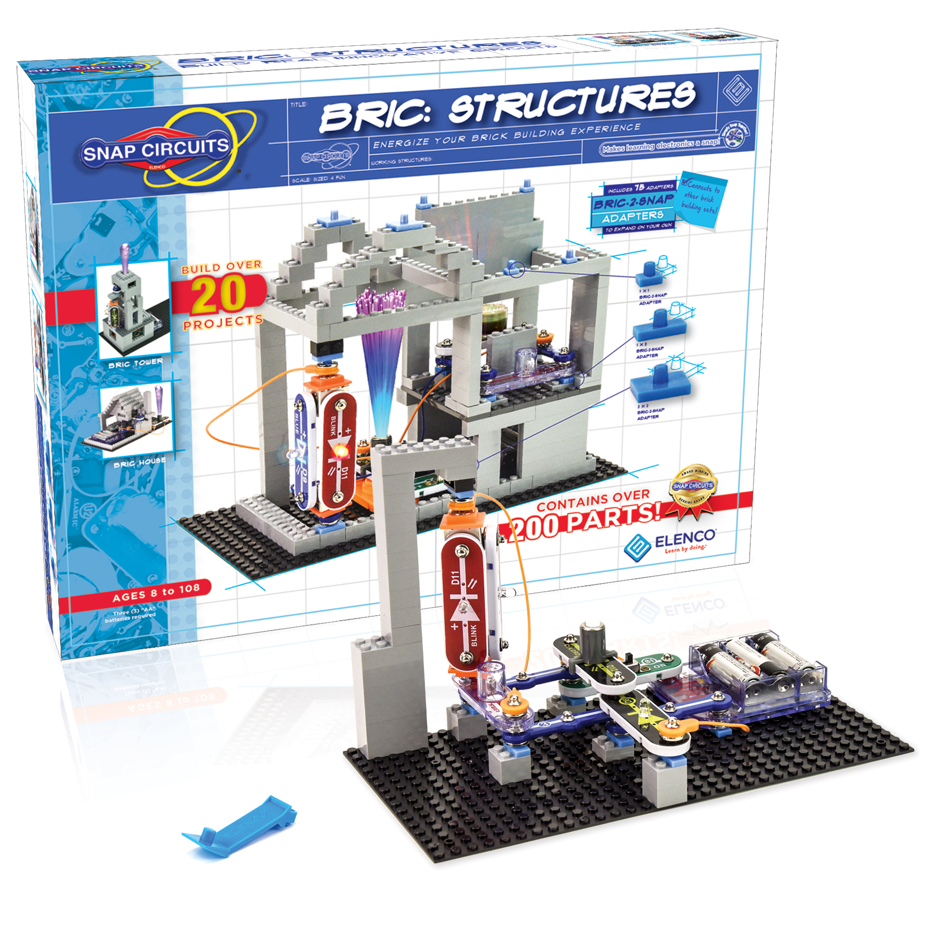 Educational Stem Toys Snap Circuits Elenco Electronics What Are You Building This Weekend Build Electronic Meet Bric