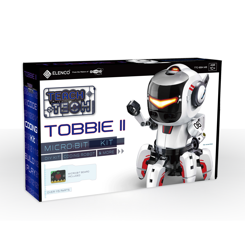 Tobbie II- TEACH TECH - Elenco Electronics