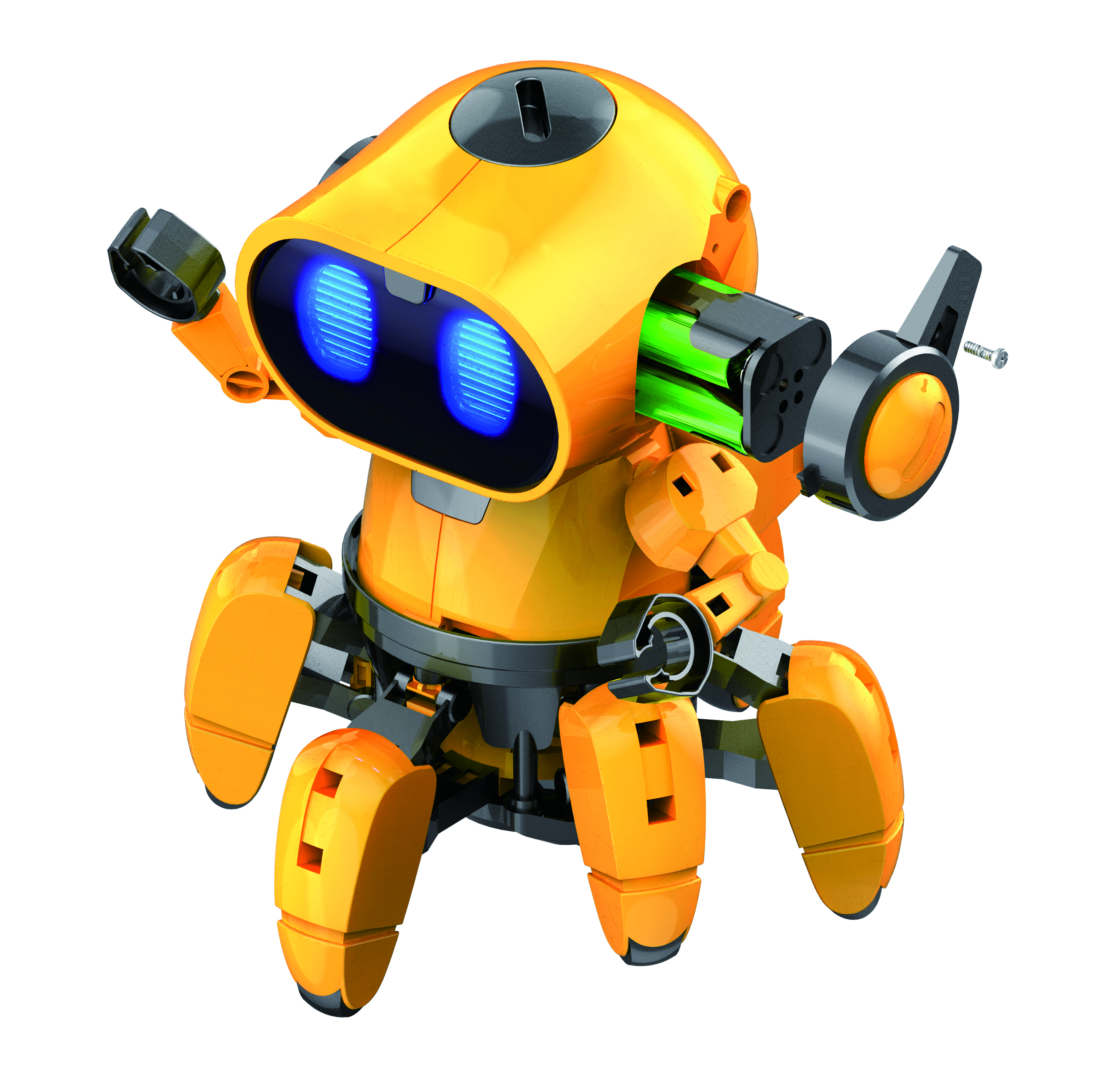 Zivko the Robot - TEACH TECH- Elenco Electronics