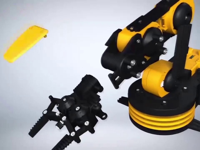 Robotic Arm Wire Controlled