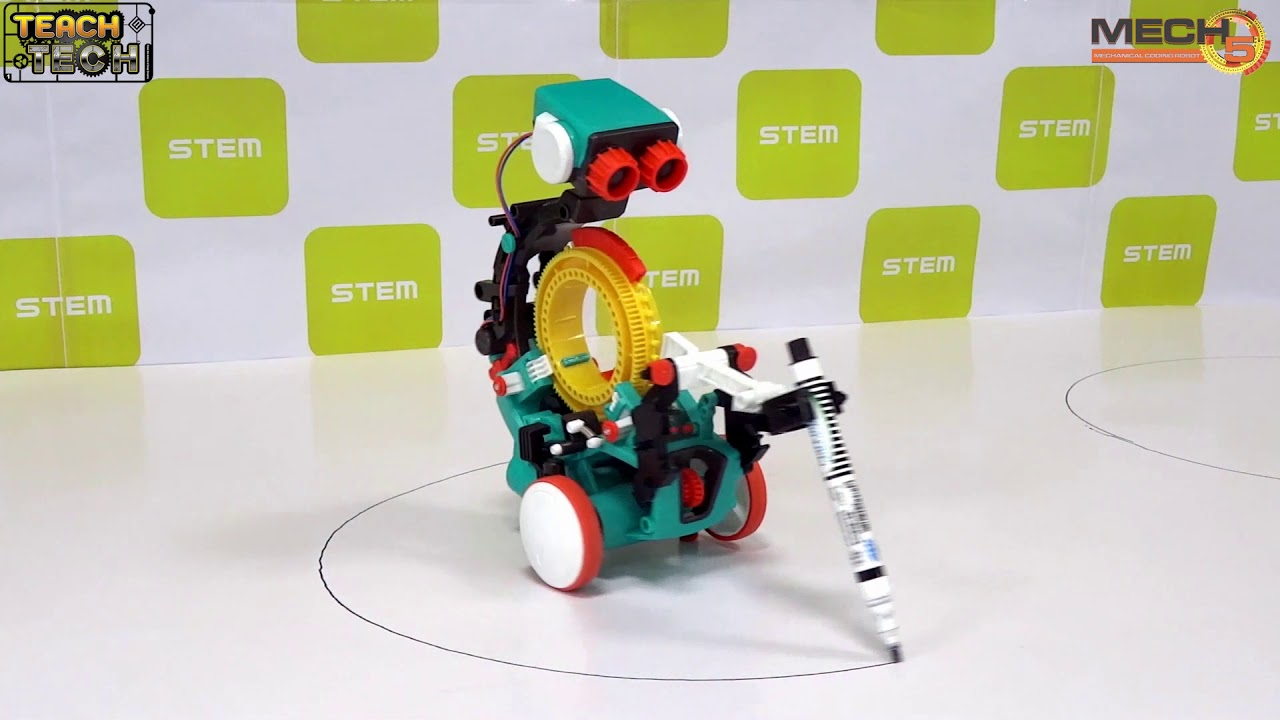 Mech-5 Drawing bot