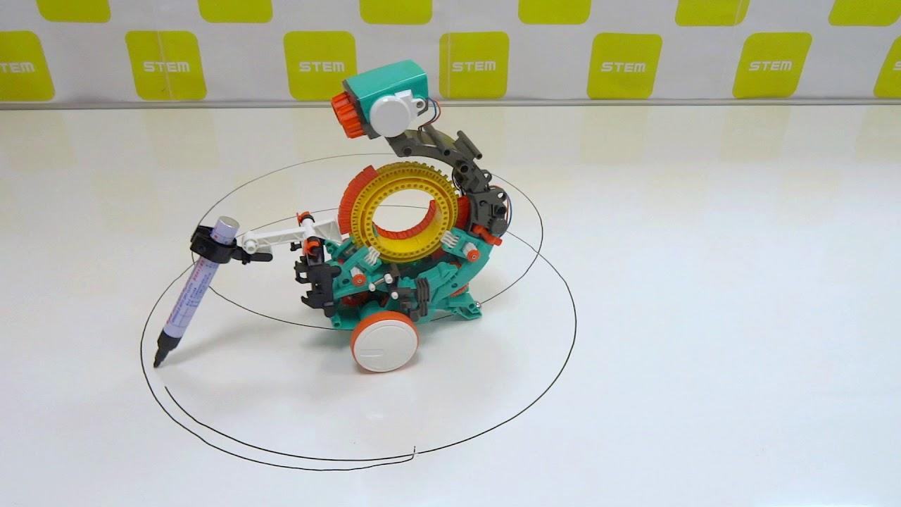 Mech-5 Drawing bot Example 12 CIRCLE